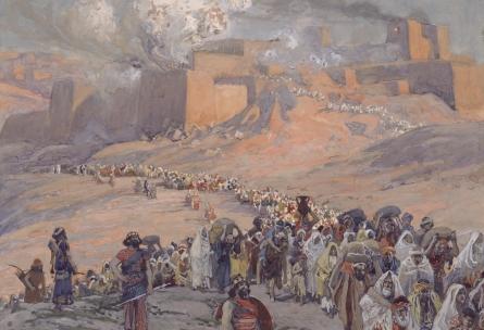 Assyrische Gefangenschaft der zehn Stämme
